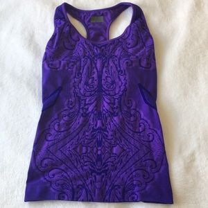 ATHETA | Purple Performance Racerback Tank | XL